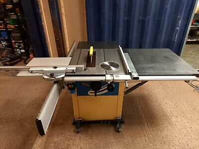 £1040 • Buy 240v Sliding Table Saw * DELIVERY AVAILABLE * Scheppach Bench Panel