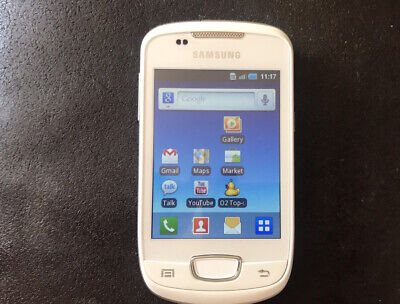 £14.99 • Buy Samsung Galaxy Mini GT-S5570 - Chic White O2 With Charger Cable