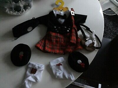 £24.50 • Buy Build A Bear Complete Scottish Outfit
