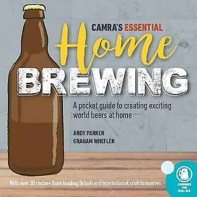 £8.82 • Buy CAMRA's Essential Home Brewing - 9781852493516