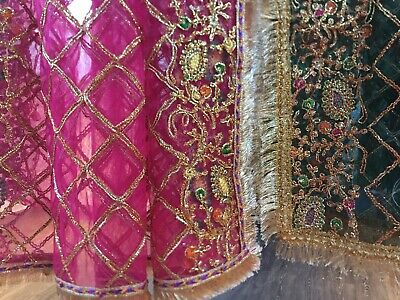 £19.50 • Buy Embroidered Net Dupatta