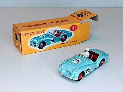 £4.95 • Buy Dinky Toy Model Car Triumph TR2 Sports NOREV Reproduction Made For DeAgostini