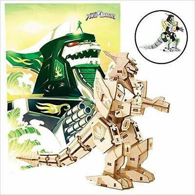 £10.81 • Buy IncrediBuilds: Power Rangers: Dragonzord 3D Wood Model And Po... - 9781682981276