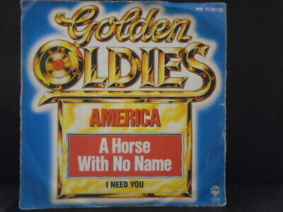 £1.95 • Buy America   A Horse With No Name   Euro Edition Ex+ Cond.in Pic Sl.