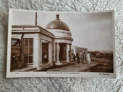 £2.99 • Buy New Shelter, North Cliff, Scarborough. Vintage Real Photo Postcard
