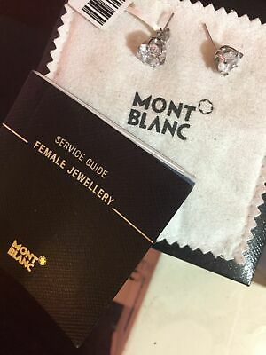 £31.23 • Buy MONTBLANC Earings Used Good Condition Made In Germany W Box And Paperwork
