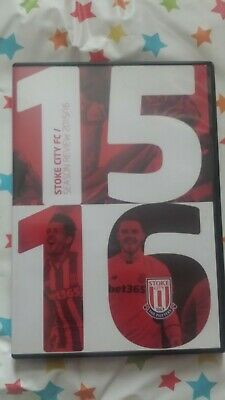 £7.50 • Buy Official Stoke City FC Season Review 2015 / 16 DVD Good Condition FREE P&P