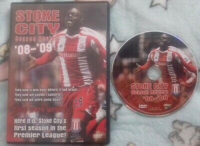 £7.50 • Buy Official Stoke City FC Season Review 08- 09 DVD Very Good Condition FREE P&P