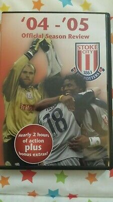£7.50 • Buy Official Stoke City FC Season Review 2004 - 2005 DVD Very Good Condition FREE PP