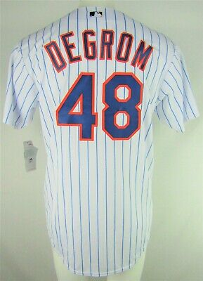 $44.99 • Buy New York Mets MLB Majestic Mens #48 DeGrom White Big & Tall Coolbase Team Jersey