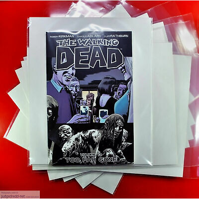 £12 • Buy The Walking Dead Comic Bags / Sleeves Only For Issues And Graphic Novels X 25