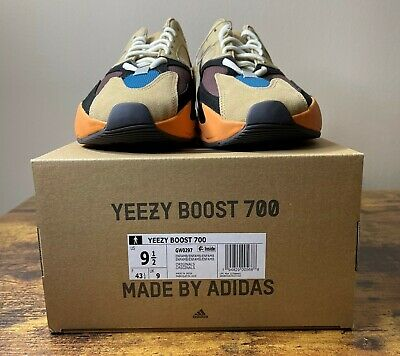 $ CDN404.63 • Buy NEW Adidas Yeezy Boost 700 Enflame Amber GW0297 Men's Size 9.5 READY TO SHIP