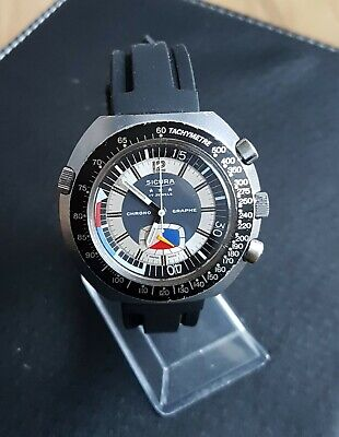 £66 • Buy Sicura Chrono By Breitling Gents Watch, Very Decent Condition!