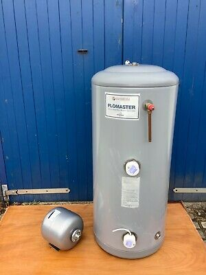 £138 • Buy Kingspan Copperform Flomaster 180ltr Unvented Hot Water Cylinder Electric Used