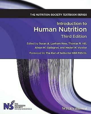 £41.82 • Buy Introduction To Human Nutrition - 9781119476979
