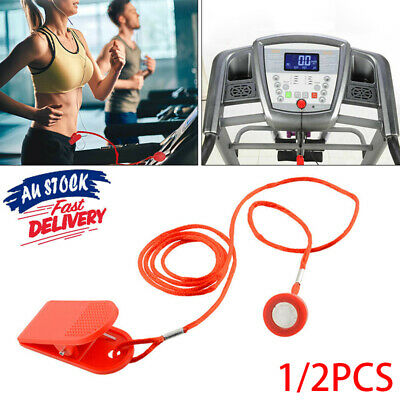 AU10.48 • Buy 2Pcs Safety Safe Key Magnetic Security Switch Lock For Treadmill Running Machine