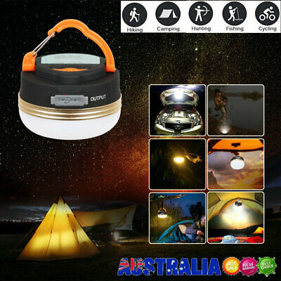 AU16.23 • Buy Portable Rechargeable LED Hiking Camping Tent Lantern Light USB Lamp Outdoor