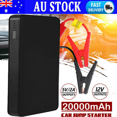 AU39.89 • Buy Car Jump Starter Booster 12V 20000mAh Auto Jumper Battery USB Power Bank Charger