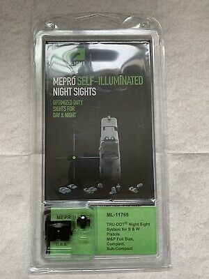 $49.95 • Buy Meprolight Tru-Dot Night Sight Set For Smith & Wesson M&P Full Size/Compact
