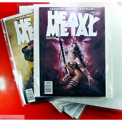 £12 • Buy MARVEL HEAVY METAL MAGAZINE Bags - Sleeves Only For Comic & Graphic Novels # 25