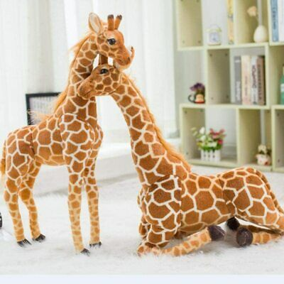 £27.85 • Buy 1M Height Plush Giraffe Doll Giant Stuffed Animals Soft Toy For Adult Kids Gift
