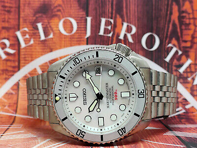 $ CDN0.01 • Buy Seiko Automatic Watch 7002-7020 Mother Of Pearl White Mod 460544