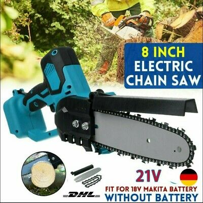 £27.99 • Buy 8 Inch Electric Handheld Cordless Chainsaw Garden Cutting Tools For Makita UK