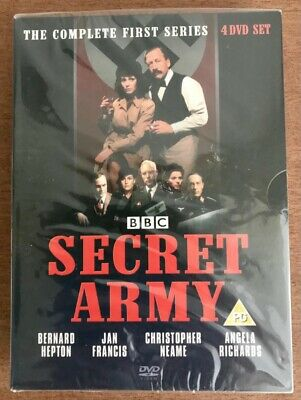 £13.99 • Buy Secret Army Complete Series 1 Dvd Boxset New/sealed