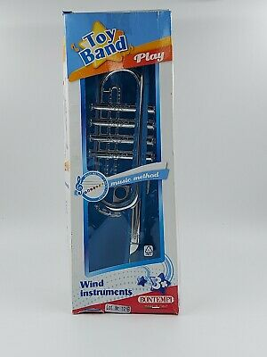 £16.86 • Buy Bontempi Toy Band Play Wind Instrument  Trumpet Free Shipping!