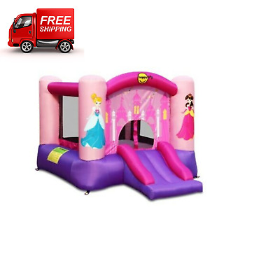 £219.99 • Buy Princess Bouncy Castle With Slide Activities Fun Play Centre Inflatable Kids 3y+