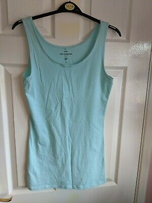 £2.50 • Buy Ladies Mint Green Vest Top Longline Stretchy From George - Size 12