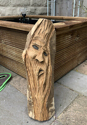 £40 • Buy Chainsaw Carved Green Man / Wood Spirit