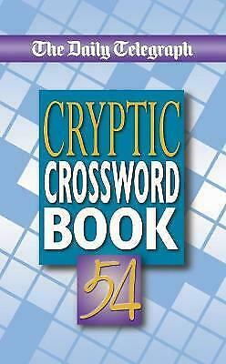 £7.76 • Buy Daily Telegraph Cryptic Crossword Book 54 - 9781509893843