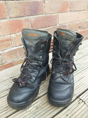 £25 • Buy Stihl Chainsaw Boots Size 9
