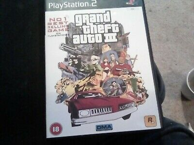 £2.69 • Buy Ps2 - Grand Theft Auto Iii (3) Uk Complete Pal Boxed Game