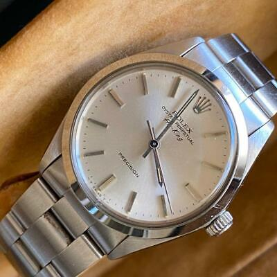 $ CDN7523.40 • Buy Rolex Air-king Reference 5500 Watch 100% Genuine Box And Papers Unpolished
