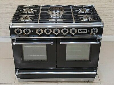 £950 • Buy Falcon Continental Lpg Bottled Gas Hob Dual Fuel Range Cooker In Black  A574