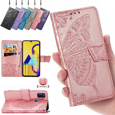 AU12.99 • Buy Samsung S21+ Ultra Note 20 S20 S10+ S8 S9 S7 Leather Wallet Case Magnetic Cover
