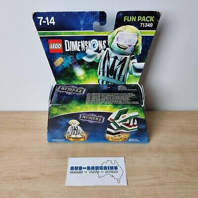 AU34.90 • Buy LEGO Dimensions Beetlejuice Fun Pack 71349 - NEW - Ps3 Ps4 Wii U Xbox 360 One