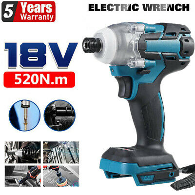 £25.99 • Buy 520Nm Cordless Brushless Impact Wrench Driver Replacement For 18V Makita Battery
