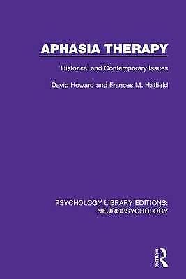 £79.49 • Buy Aphasia Therapy - 9781138592162