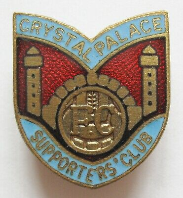 £12.49 • Buy CRYSTAL PALACE - Superb Vintage Supporters Club Enamel Football Pin Badge