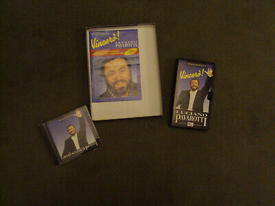 £0.50 • Buy Tutto Pavarotti - Gift Box With Cd And Vhs