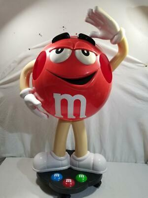 $275 • Buy M&M 40  Red Character Store Candy Display    FREE SHIP