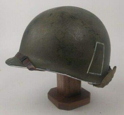 $ CDN557.35 • Buy WWII WW2 US Army 77th Inf Front Seam Fixed Bale M1 Helmet 278C Stamp W/ Liner