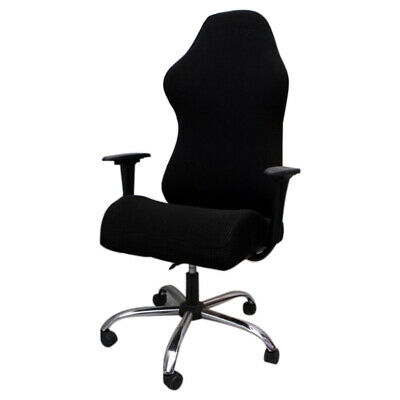 AU26.84 • Buy Elastic Gaming Competition Chair Covers Household Office Internet Cafe Rota S4S1