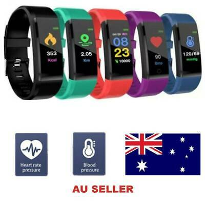 AU15.92 • Buy Fitness Smart Watch Band Sport Activity Tracker ADULT Kid Fitbit STEP COUNTER AU