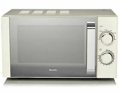 £84.99 • Buy Breville Manual Microwave - Cream Fast Dispatch Fast Delivery UK Seller