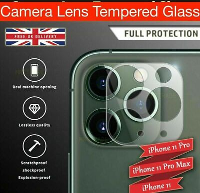 £2.75 • Buy Best Camera Lens For IPhone 12, 11 Pro MAX Case Protector Tempered Glass Cover