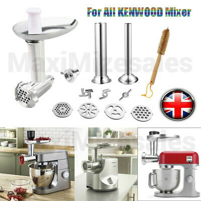 £49.99 • Buy UK Kitchen Food Meat Grinder Attachment For KENWOOD KAX950ME Mixer Accessories